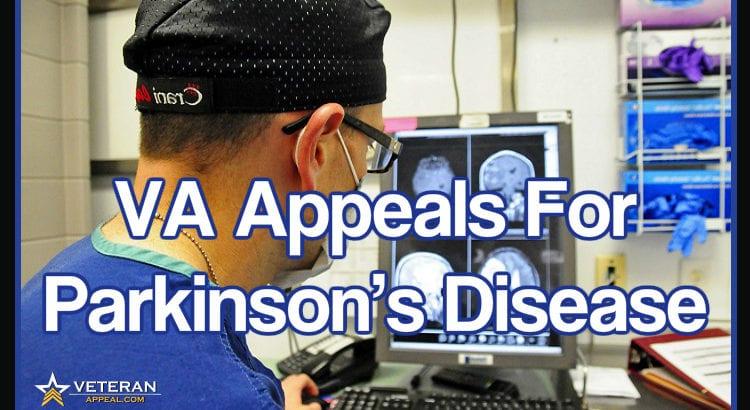 VA Appeals for Parkinson's Disease