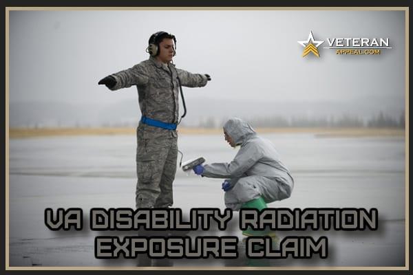 VA Disability Radiation Exposure Claim