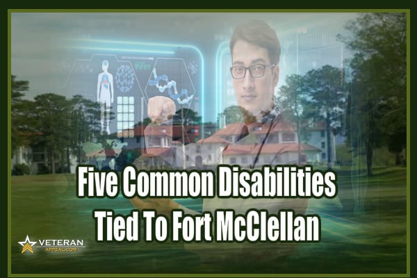 Disabilities Tied To Fort McClellan